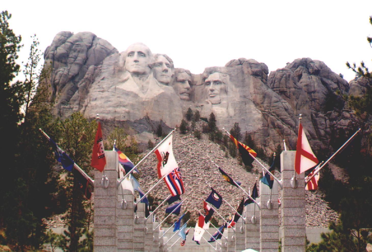 Mount Rushmore built 1927-1941